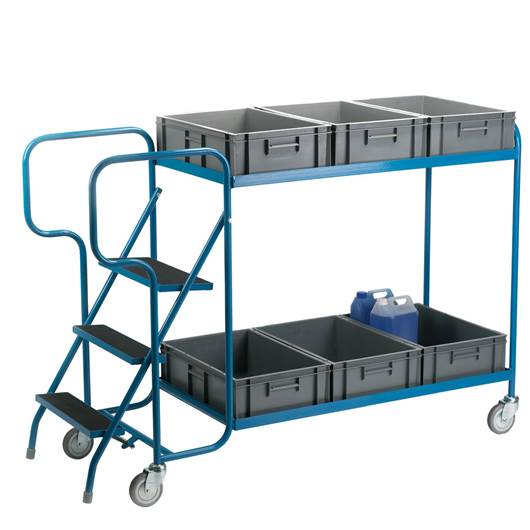 Picture of Order Picking Trolley For Containers