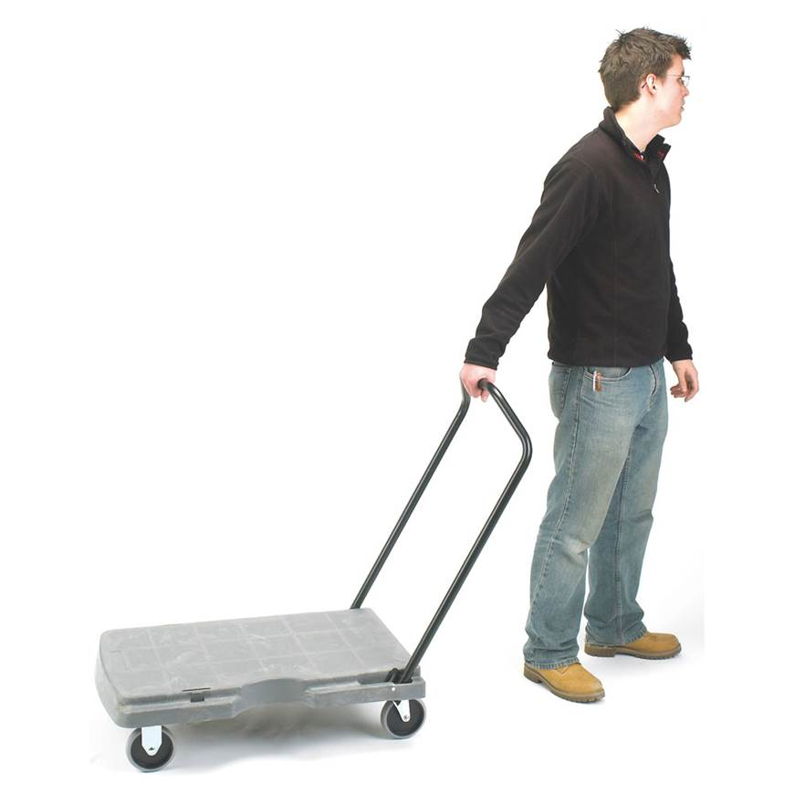 Picture of Plastic Platform Trolley - Foam Plastic