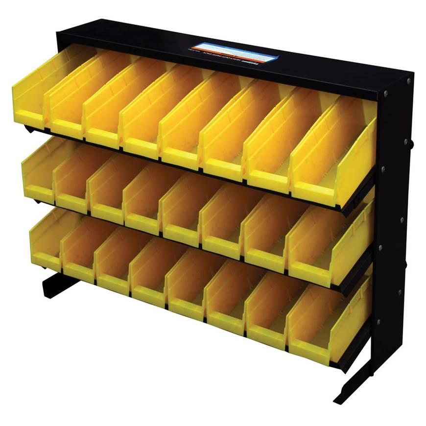 Picture of Bin Rack - Yellow