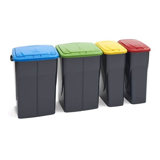 Picture of Push Lid Litter Bins
