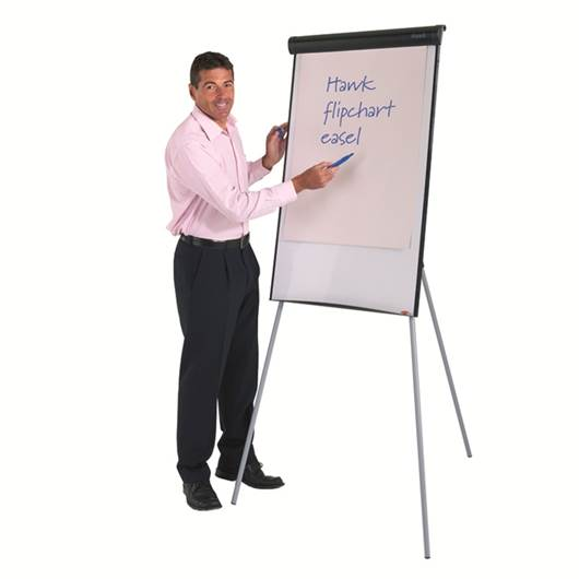 Picture of Hawk Tripod Flipchart Easel