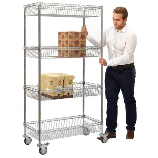 Picture of Wire Mesh Trolley
