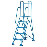 Picture of Fort Easy Glide Mobile Steps with Expanded Steel Mesh Treads