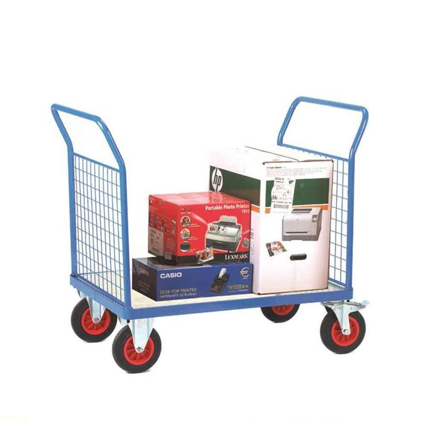 Picture of Fort Galvanised Platform Trucks with Double Mesh End