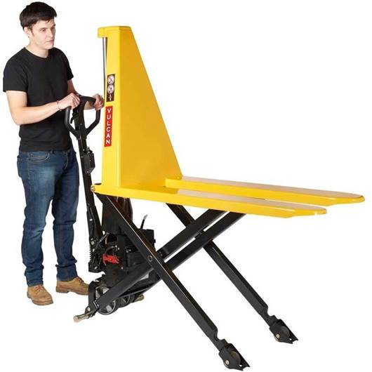 Picture of VULCAN Electric High Lift Pallet Trucks