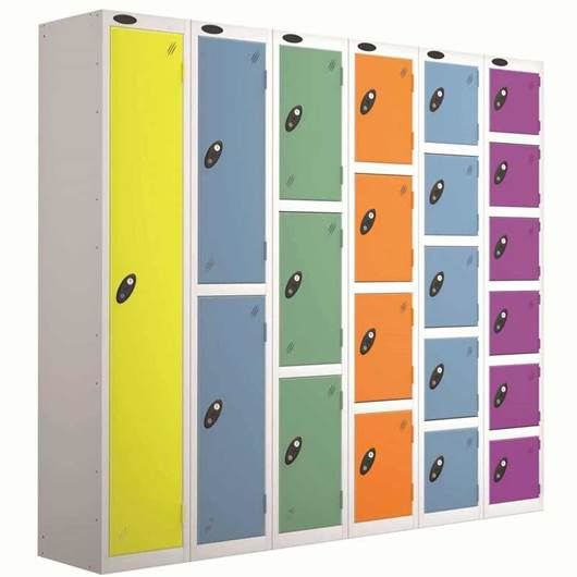 Picture of Standard Colour Lockers