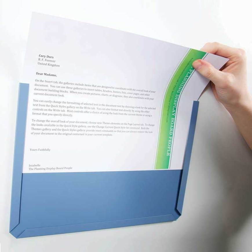Picture of Hook & Loop Backed Document Pockets