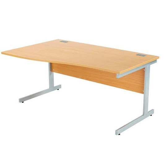 Picture of Fraction+ Desk - Wave Workstations