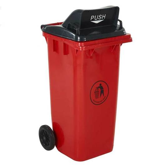 Picture of Wheeled Bins with Push Flap Lid
