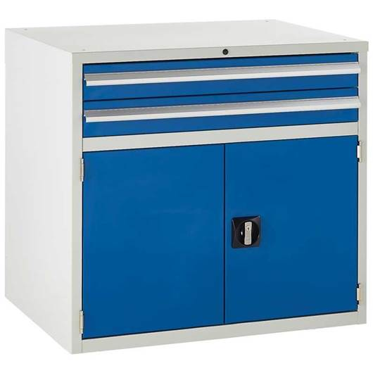 Picture of Euroslide 2 Drawer Double Cupboard