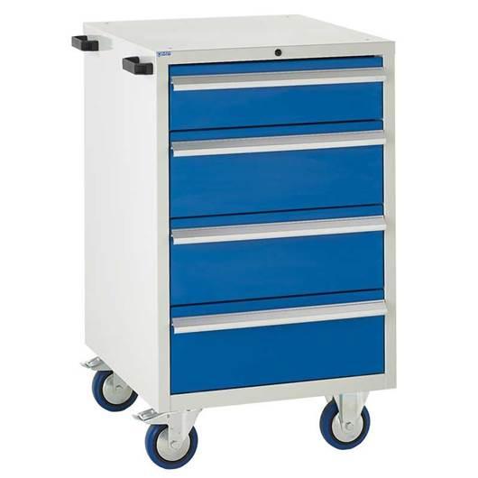 Picture of Mobile Euroslide 4 Drawer Cabinet