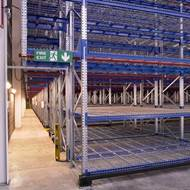 Picture of Drop Over Shelving for Pallet Racking
