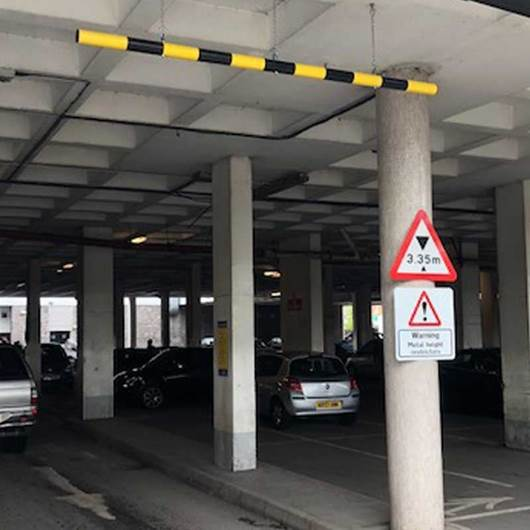 Picture of Height Restriction Nudge Barrier