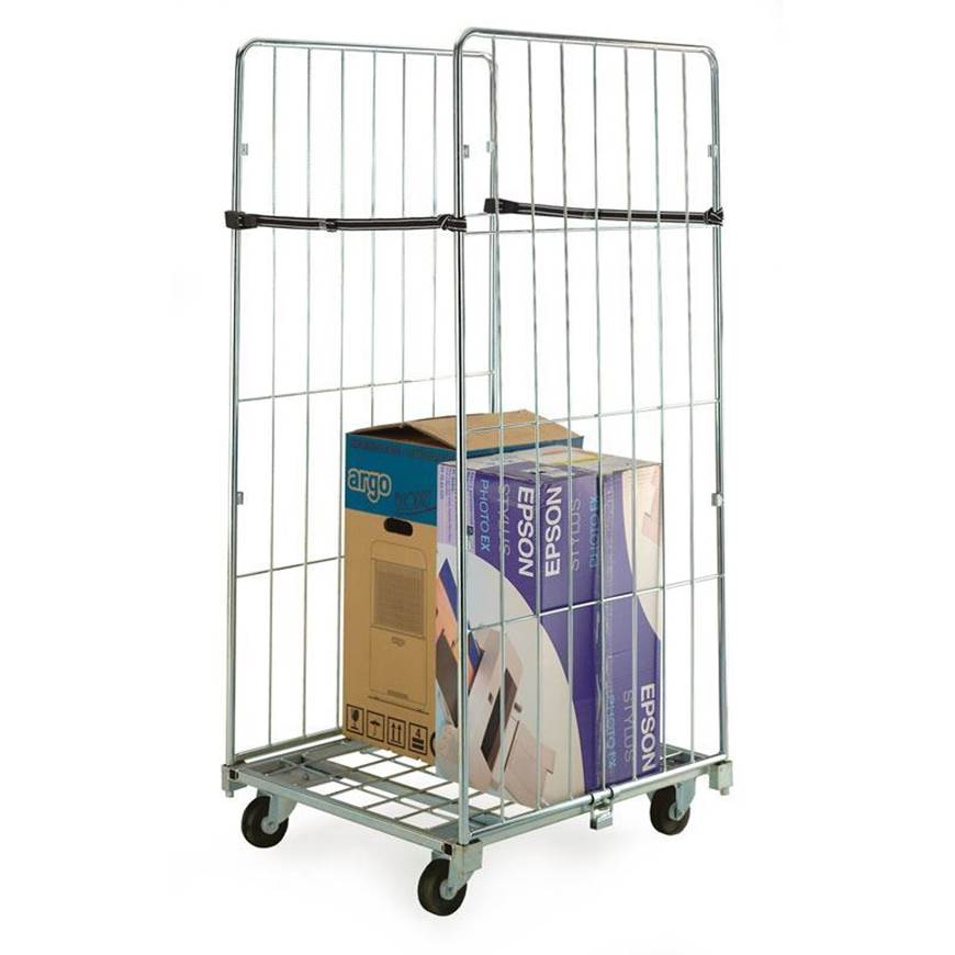 Picture of Two Sided Demountable Roll Containers with Straps