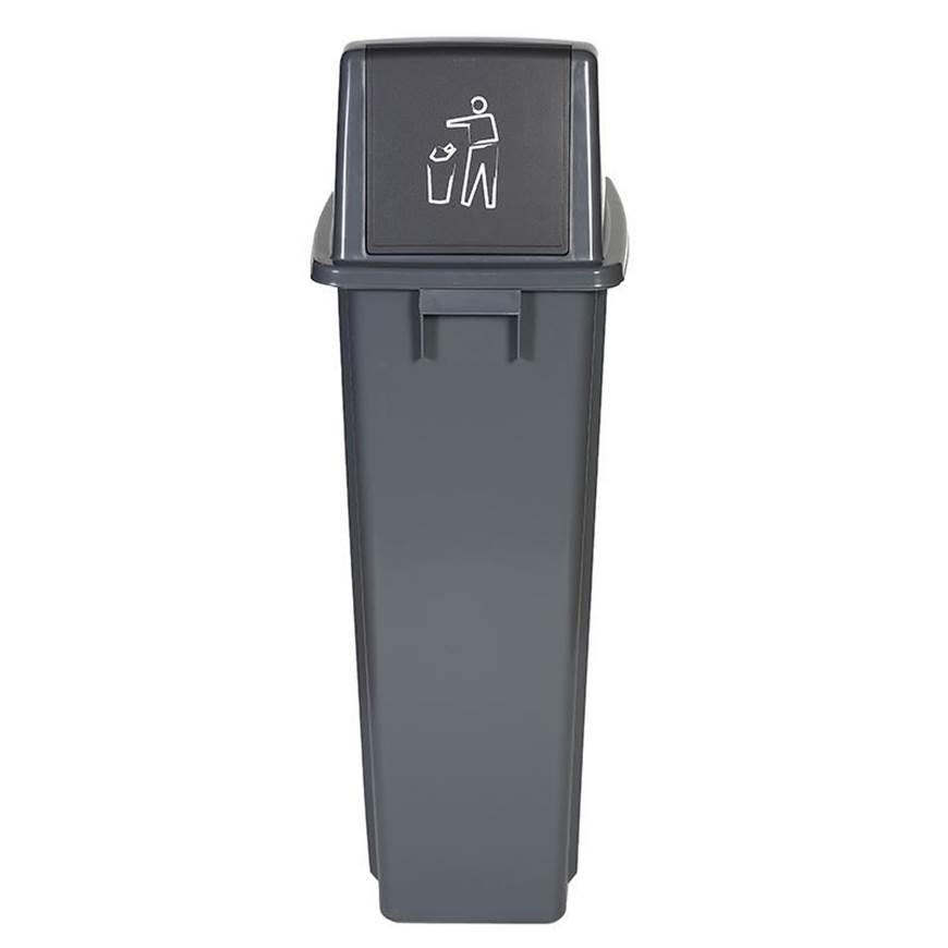 Picture of Recycling Bins with Push Flap Lid