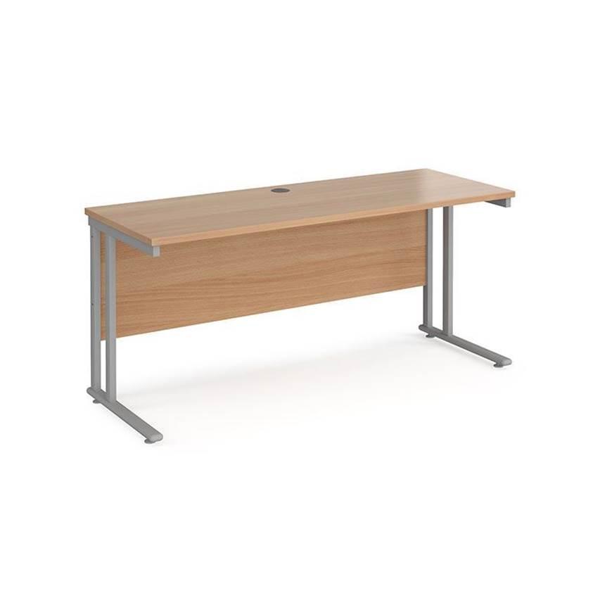 Picture of Maestro Desking - Straight Desks - Oak Worktop