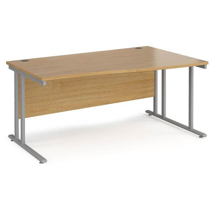 Picture of Maestro Desking - Wave Desk - Walnut Worktop